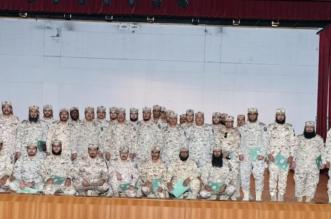 مدارس الحرس الوطني العسكرية تحتفل بتخريج دورة دبلوم الأمن الفكري