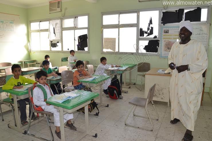 مدارس النطاق الأحمر في نجران 13