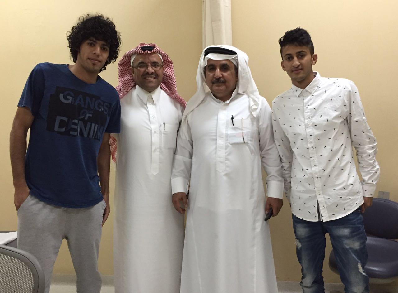 مدافع نادي العين من الباحة اللاعب يوسف الزهراني (2)