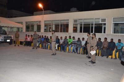 مداهمات أمنية توقع 92 مخالفًا وحالات جنائية بالدمام والخبر (177188085) 