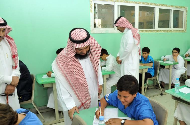 مدرسة متوسطة وثانوية للبنين والبنات في منطقة الجوف، اختبارات نهاية العام الدراسي 1436-1437هـ