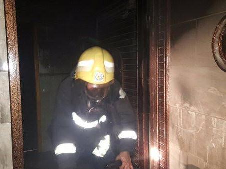 مدني ابها يخمد حريق (1)
