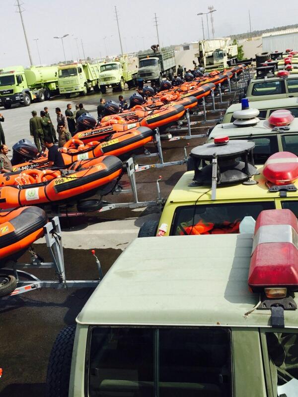مدني #الشرقية إنقاذ 11 مركبة و9 أشخاص احتجزوا وإيواء 5 أسر (4)