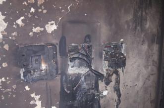 بالصور.. مدني تبوك يُخمد حريقًا اندلع في شقة بسبب التماس كهربائي - المواطن