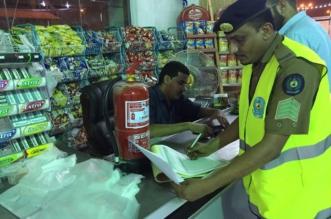 مدني جازان يكثف حملاته التفتيشية على المحال التجارية 1 