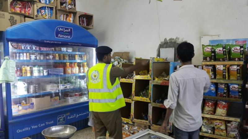 مدني جازان يكثف حملاته التفتيشية على المحال التجارية (366488213) 