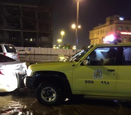 مدني جازان يكشف أسباب دخول مياه الأمطار للمنازل (1)