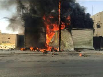 مدني حفر الباطن يخمد حريق 2