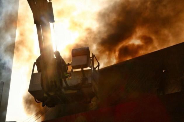 مدني مكة حريق (4)
