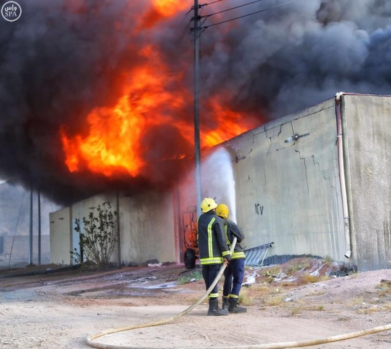 مدني مكة حريق2