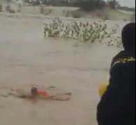 مدني مكة ينقذ مسن