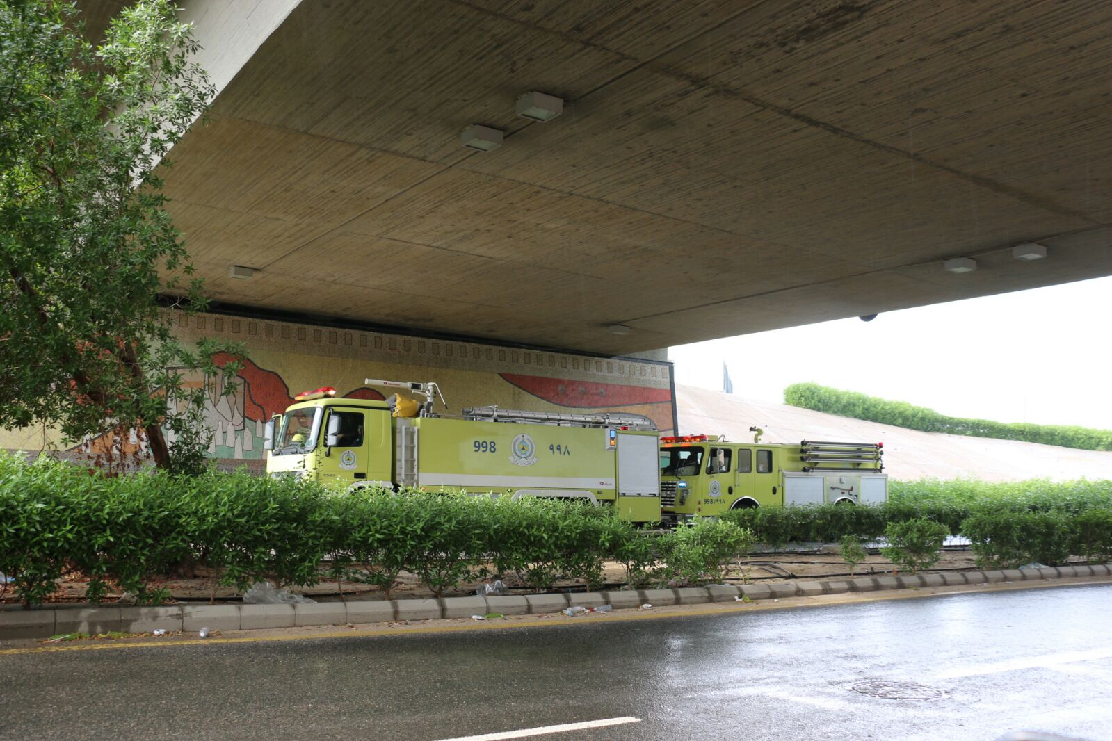 #مدني_مكة ينفذ خطته في مواجهة الأمطار ويؤكد لا إصابات (3)