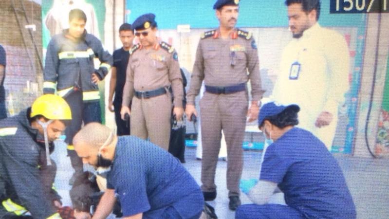 #مدني_مكة يوضح تفاصيل سقوط طفلة الثلاثة أعوام في خزان بالفيصلية