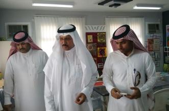 مدير تعليم #المخواة يتجول في مجمع ممنا بني عبيد للبنات - المواطن