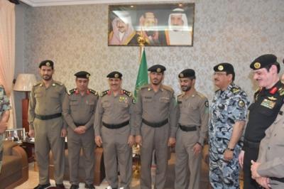 مدير الأمن العام، الفريق عثمان بن ناصر المحرج (30322571) 