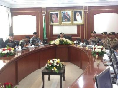 مدير الأمن العام، الفريق عثمان بن ناصر المحرج (30322572) 