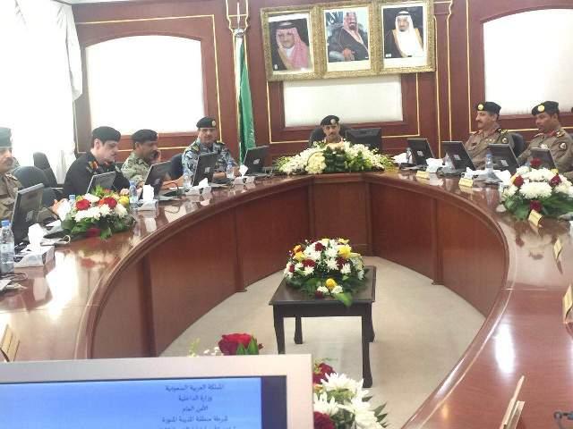 مدير الأمن العام، الفريق عثمان بن ناصر المحرج (30322573) 