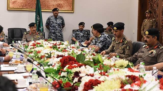 مدير الأمن العام يقف على تكامل الاستعدادات لخدمة ضيوف الرحمن