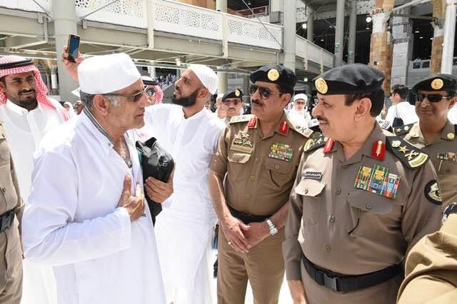 مدير الأمن العام يقف على تكامل الاستعدادات لخدمة ضيوف الرحمن1