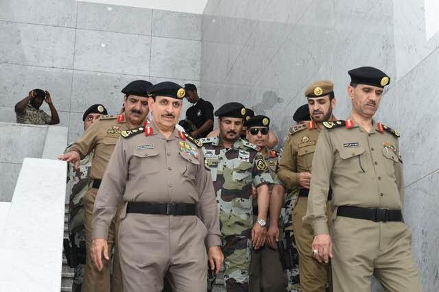 مدير الأمن العام يقف على تكامل الاستعدادات لخدمة ضيوف الرحمن3