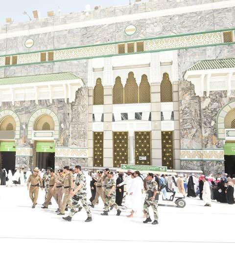 مدير الأمن العام يقف على تكامل الاستعدادات لخدمة ضيوف الرحمن9