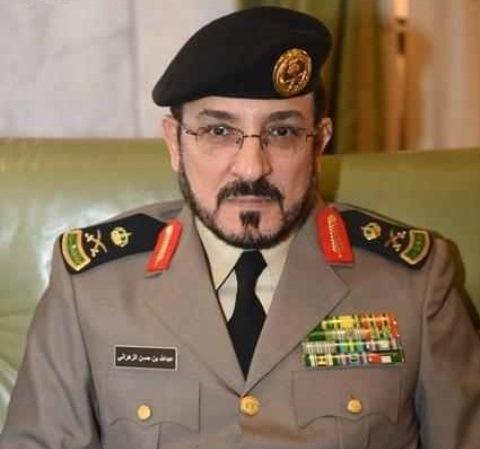 مدير الادارة العامة للمرور اللواء عبدالله الزهرا
