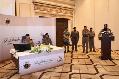 مدير الامن العام يتابع التصفيات النهائية لمسابقة الامير نايف لحفظ القران الكريم7