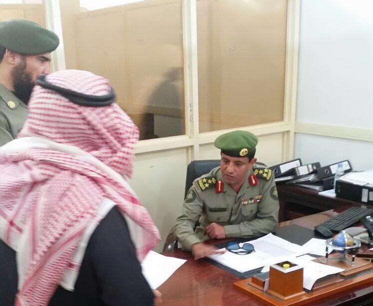 مدير جوازات عسير العميد سعد بن ابراهيم الخالدي يتفقد شعبة جوازات خميس مشيط (4)