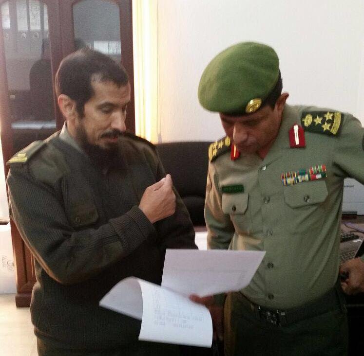 مدير جوازات عسير العميد سعد بن ابراهيم الخالدي يتفقد شعبة جوازات خميس مشيط (5)