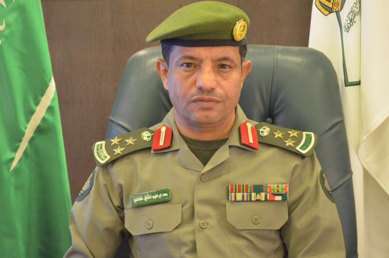 مدير جوازات عسير العميد سعد بن ابراهيم الخالدي