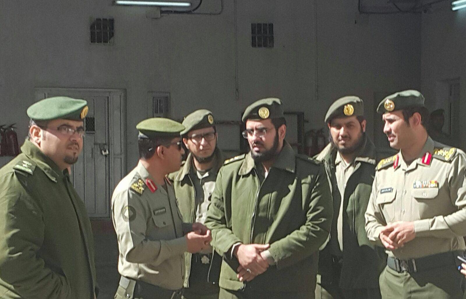 مدير جوازات عسير يتفقد ادارة جوازات ظهران الجنوب وشعبة سراة عبيده (6)