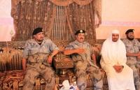 """مدير عام حرس الحدود يُعَزّي أسرة الشهيدين """"المجيشي"""" و""""العمري"""""""
