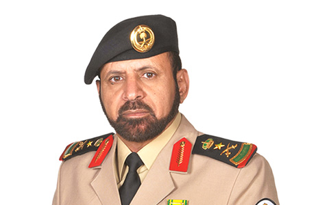 قائد حرس الحدود الفريق الركن زميم بن جويبر السواط
