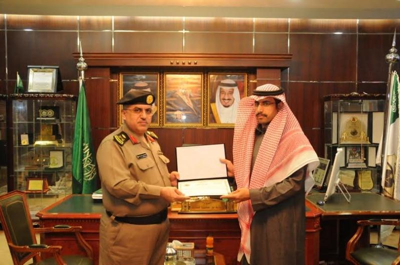 مدير شرطة منطقة الجوف يكرم عددا من ضباط وأفراد شرطة3