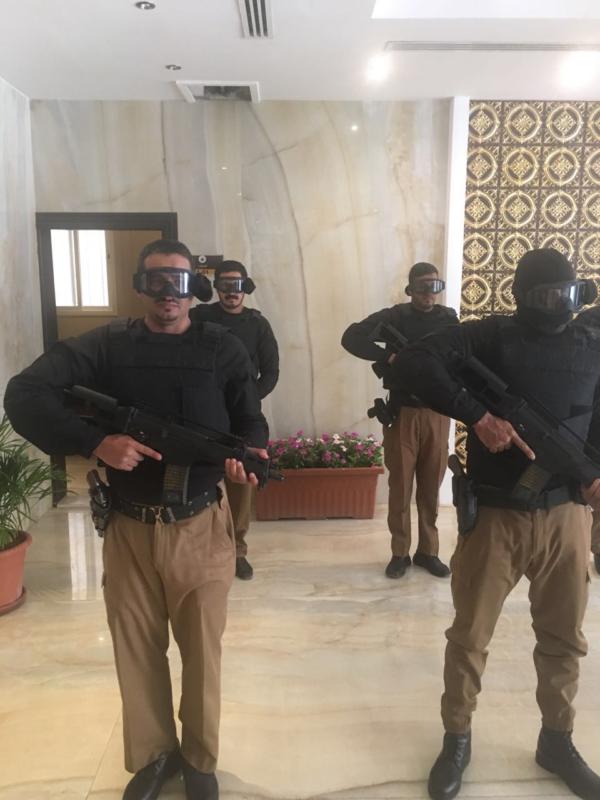 مدير شرطة منطقة الرياض يدشن مقر إدارة دوريات أمن المحافظات1