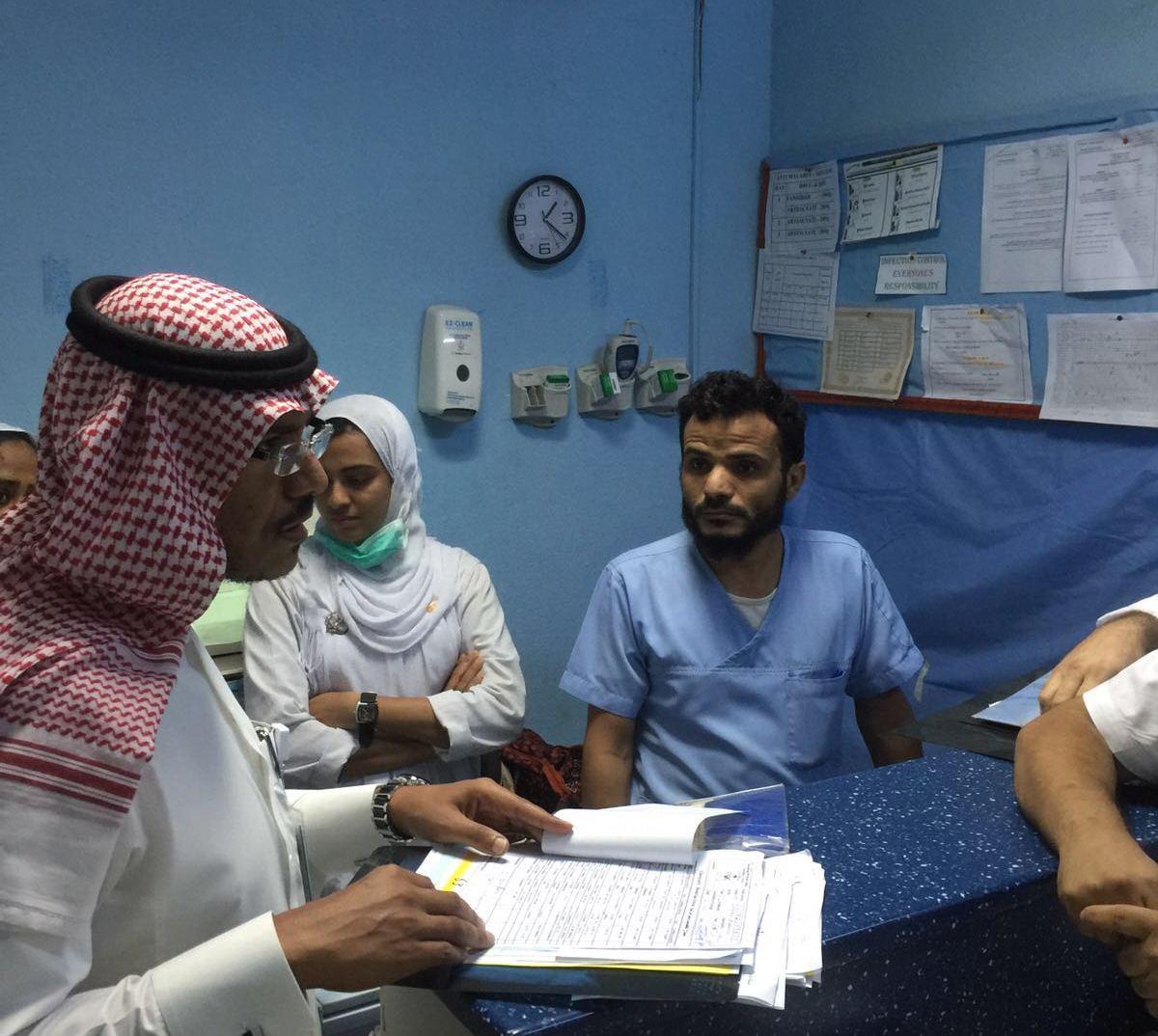 مدير صحة جازان يتفقد المشاريع الصحية بالعارضة (2)