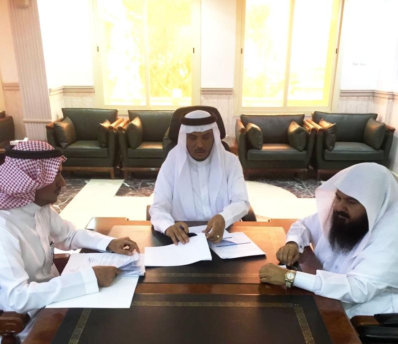 مدير عام التعليم بمنطقة الباحة رئيس لجنة القيادة المدرسية سعيد محمد مخايش