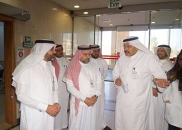 مدير عام الشؤون الصحية بمنطقة مكة المكرمة الدكتور عبد الله المعلم