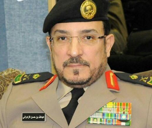 مدير عام المرور اللواء عبدالله الزهراني