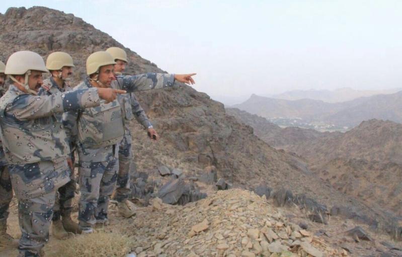 مدير عام حرس الحدود يَتفقّد المواقع الميدانية بمنطقة نجران (1)