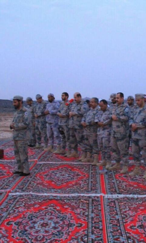 مدير عام حرس الحدود يَتفقّد المواقع الميدانية بمنطقة نجران (349840909) 