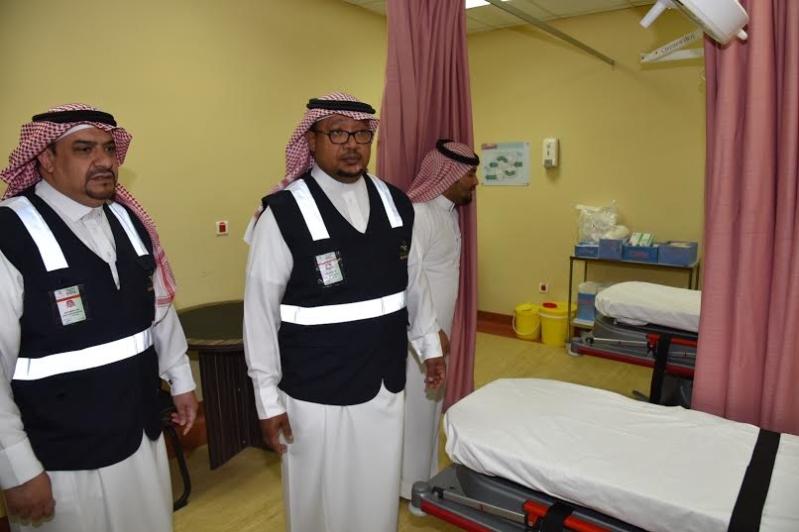 مدير عام صحة الجوف يتفقد مستشفى ميقوع 10