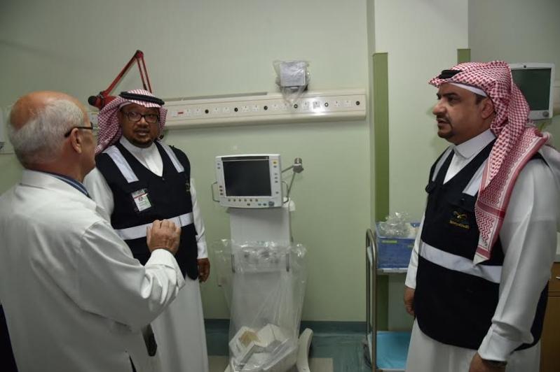 مدير عام صحة الجوف يتفقد مستشفى ميقوع 13