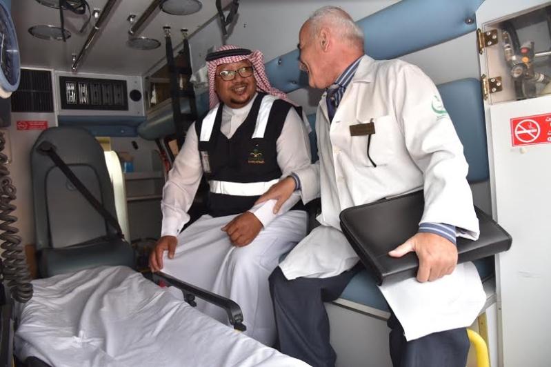 مدير عام صحة الجوف يتفقد مستشفى ميقوع