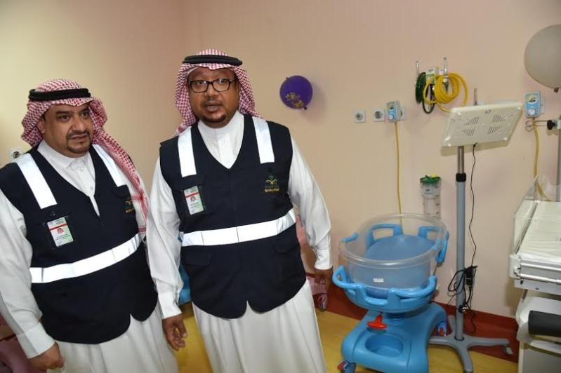 مدير عام صحة الجوف يتفقد مستشفى ميقوع 9