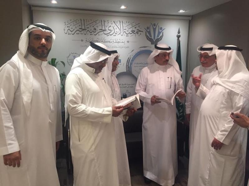 """مدير """"عمل"""" مكة يقف على أعمال عددا من الجمعيات الخيرية في المنطقة"""