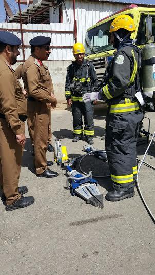 مدير مدني #عسير يقف على جاهزية إدارات #تنومة و #النماص7