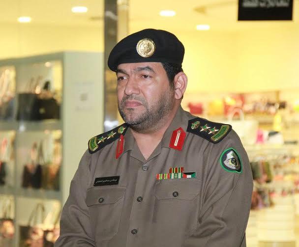 مدير مرور الخرج العقيد عبدالله بن عبدالعزيز الحقباني