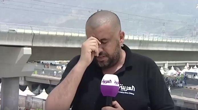 مذيع العربية