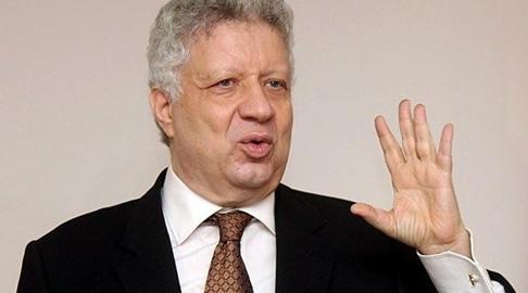 مرتضى منصور، رئيس نادي الزمالك المصري إدارة النادي الأهلي